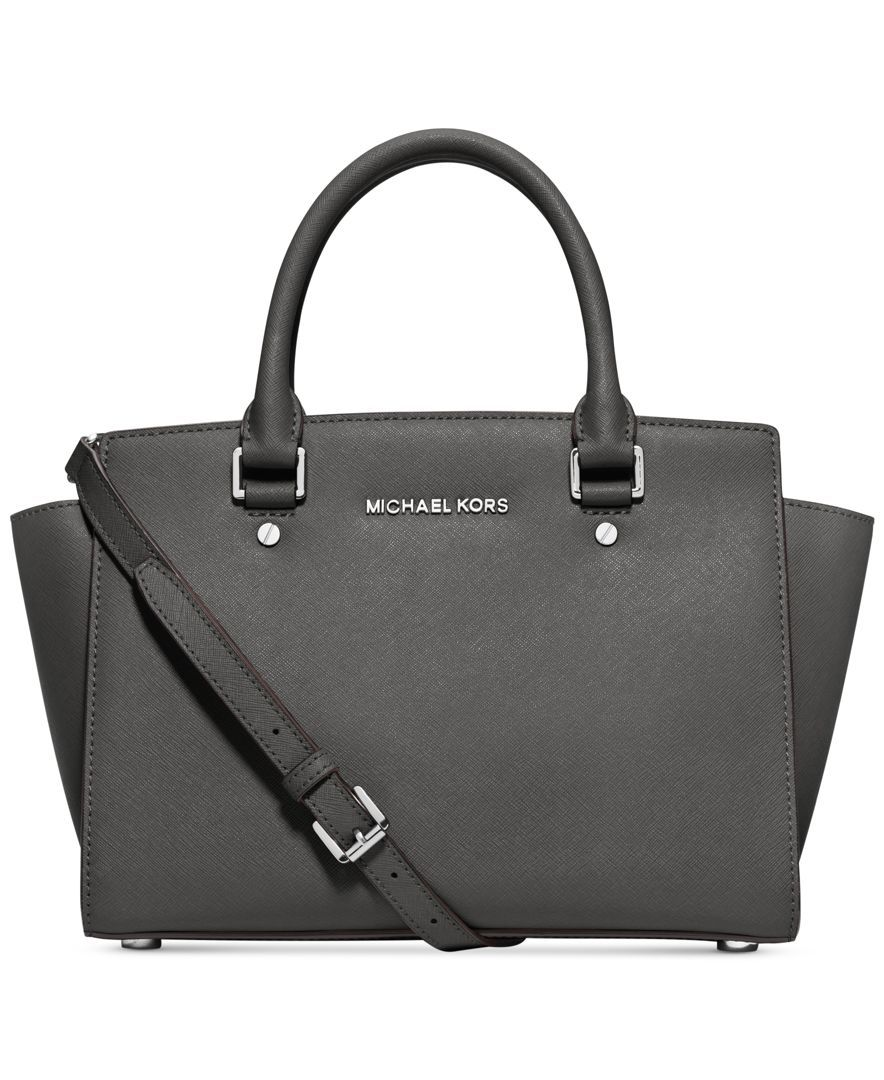 a2c9e8ef708d0c MICHAEL Michael Kors Selma Medium Satchel - Handbags & Accessories - Macy's