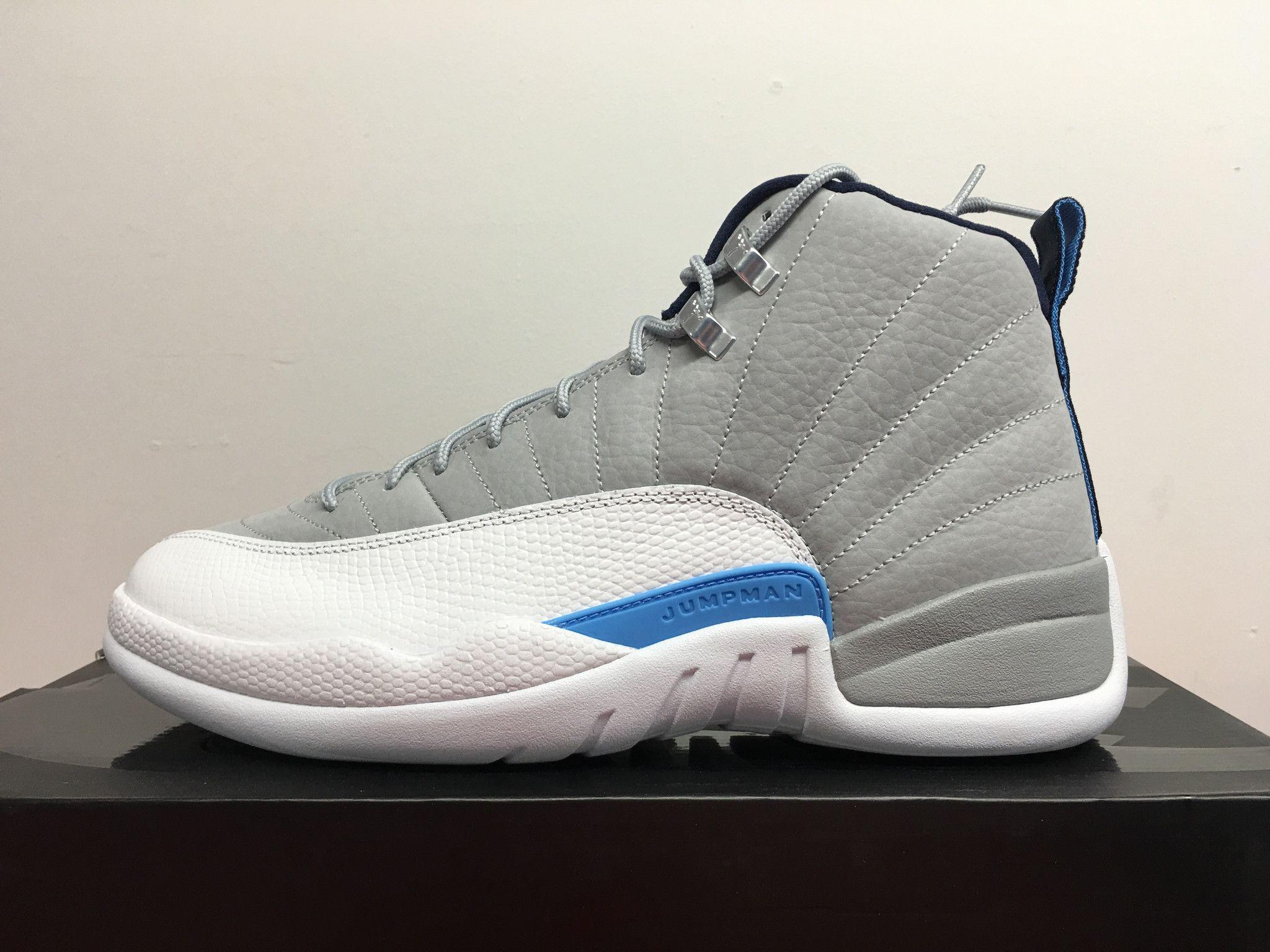 822ebff9920 Look Out For The Air Jordan 12 Grey University Blue Next Week