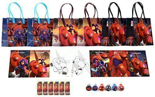 Disney Big Hero 6 Party Favor Set  6 Packs 42 Pcs * You can get more details by clicking on the image.