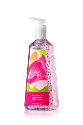 Anti Bacterial Sanitizing Hand Gel Sweet Pea Smells Wonderful