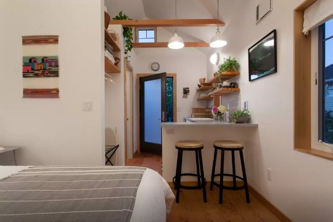 stylish Portland tiny house by Emily Katz