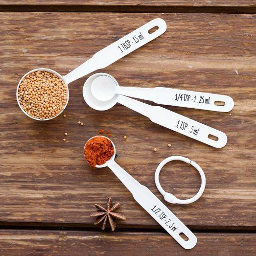 Enamel Measuring Spoons | west elm
