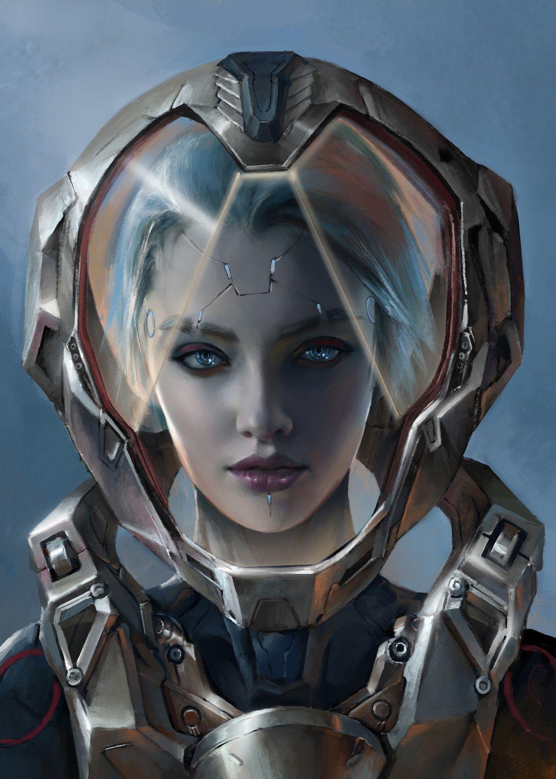 Pin By Pawel Daruk On Cyberpunk Sci Fi Art Cyberpunk Art Cyberpunk Character Sci Fi Art
