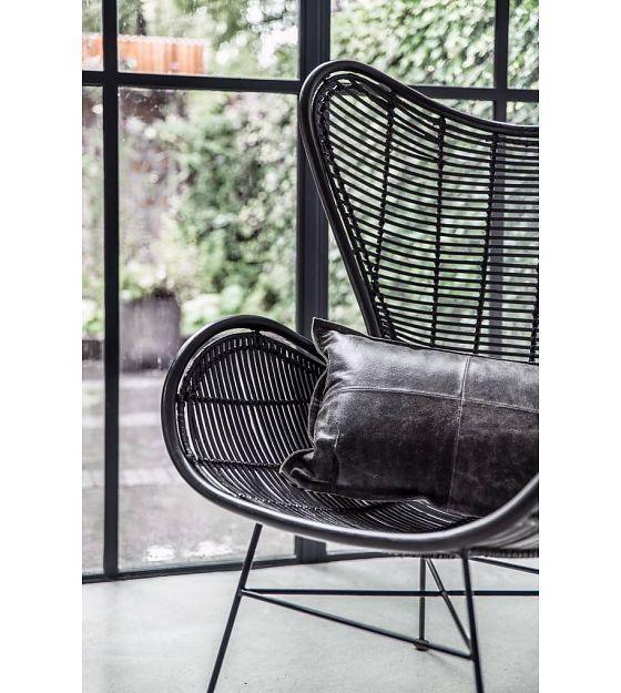 Egg Chair Rotan.Stoel Zwart Rotan Egg Chair 83x70x110cm Pink Desk Chair Ikea