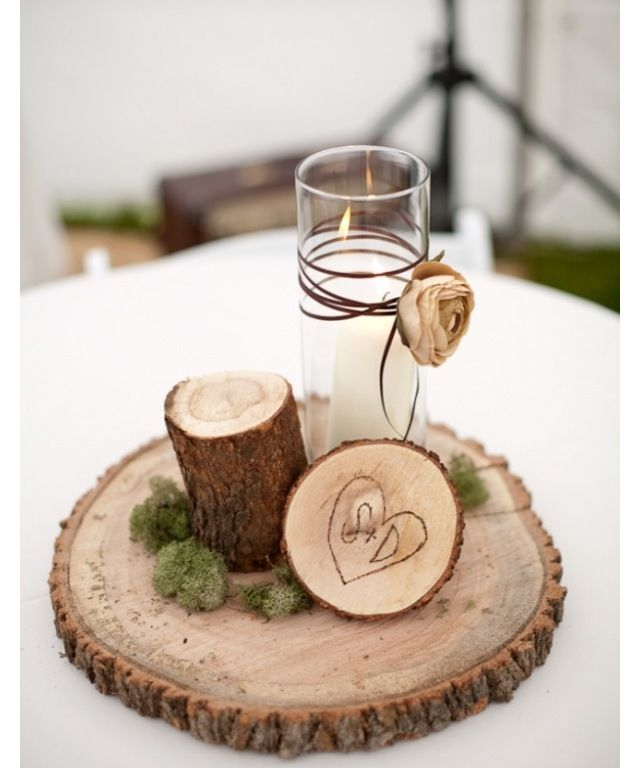 Cute Wedding Centerpiece Ideas: Winter Wedding Centerpieces