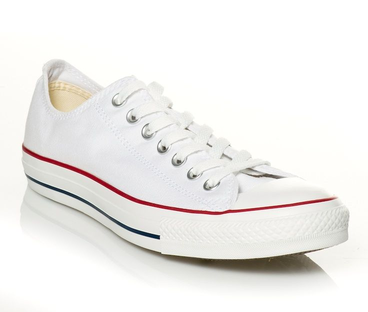 Pair these classic sneakers with red shorts and a navy striped tee and voila, you're ready to set sail!