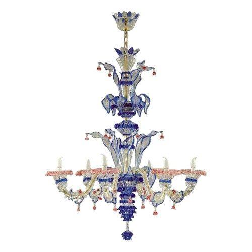 Traditional venetian chandelier from murano italy lighting lamps traditional venetian chandelier from murano italy mozeypictures Gallery