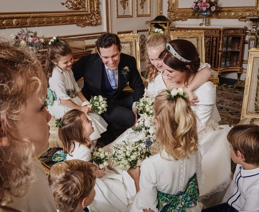 Jack And I Would Like To Thank Everyone Who Was Involved In Making Our Day So Special And For All The Wo Prinzessin Eugenie Prinzessin Kate Konigliche Hochzeit