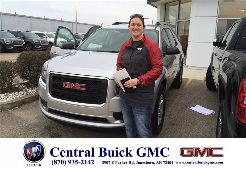 Thank You Brian Romine And Central Buick Gmc For A Great Deal On
