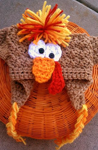 Pack of adjustable headband patterns. I love this turkey!