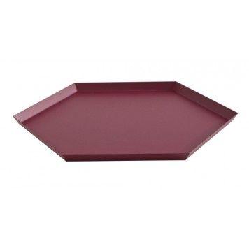 Hay Tablett hay kaleido tablett größe xl aubergine home items