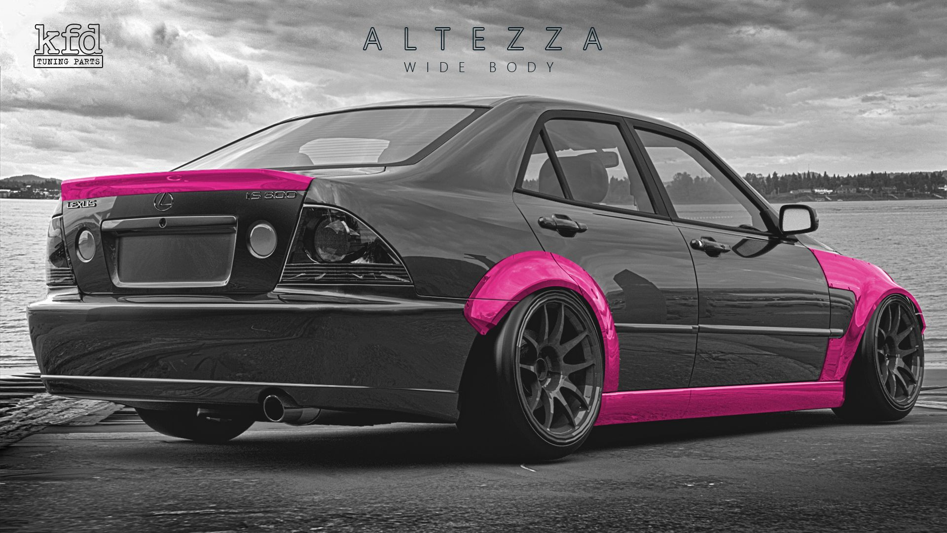 Wide Body Kit For Toyota Altezza Lexus Is200 Is300 Lexus Wide Body Kits Wide Body