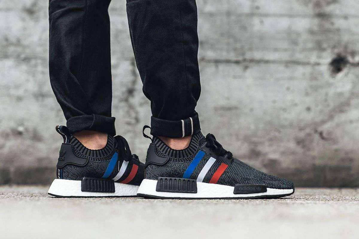 hot sale online a7543 33274 On-Foot  adidas Originals NMD R1 PK Tri-Color Pack - EU Kicks Sneaker  Magazine