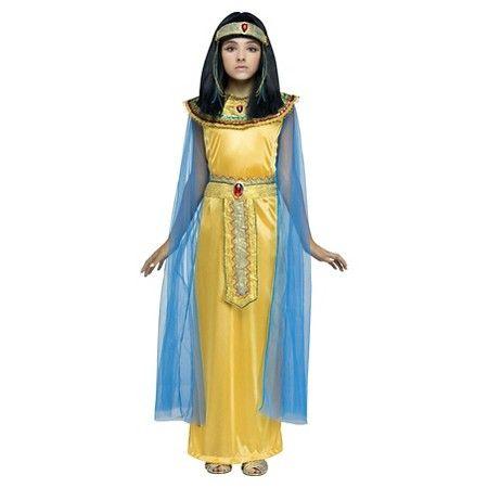 736ce87d268 Girls  Golden Cleopatra Costume - M   Target
