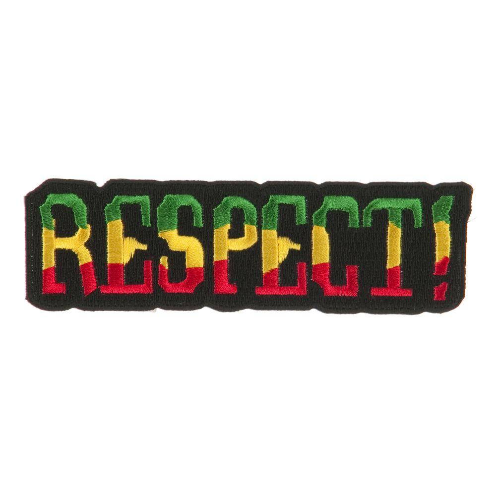 Rasta Flag Patch-Respect | Bonés de crochê, Patch Respect Hat Marley