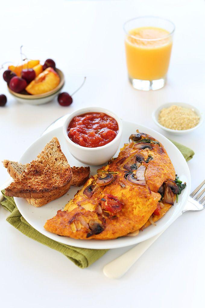 Vegan Omelet Minimalist Baker Recipes Recipe Vegan Breakfast Recipes Vegan Recipes Easy Vegan Recipes