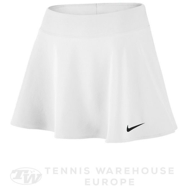 Nike Women's Spring Pure Flouncy Skirt (64 CAD) ❤ liked on Polyvore featuring skirts, flounce skirt, frill skirt, frilled skirt, flouncy skirt and ruffle skirt