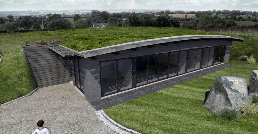 first underground umbrella house in northern ireland | ireland