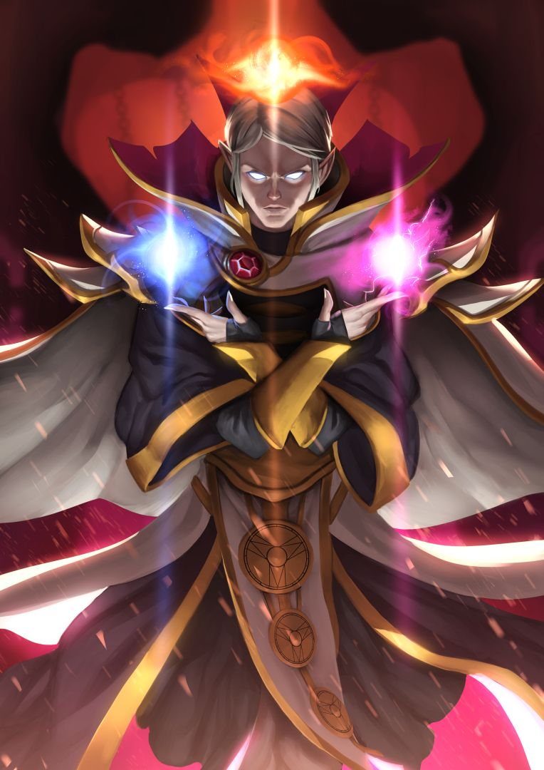 Invoker By Doghateburger On Deviantart Wizard Garb Pinterest