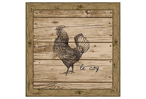 Make One Of These For The Kitchen Rooster Wood Planks