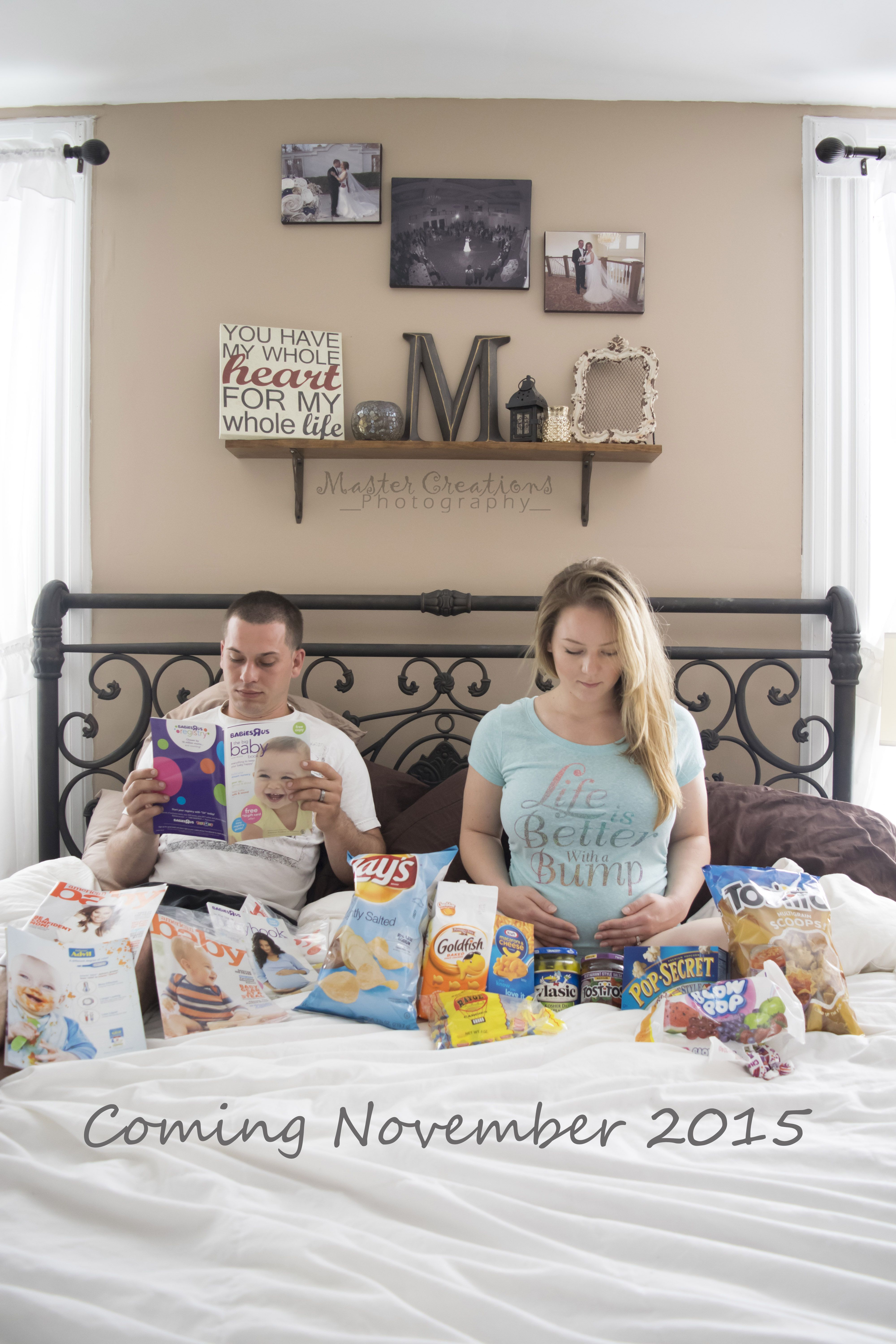 Cute/funny way to announce your pregnancy Pregnancy
