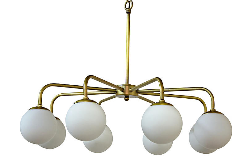 Larenta 8 Light Chandelier Brass White Antique Brass Chandelier Chandelier Lighting Eclectic Chandeliers