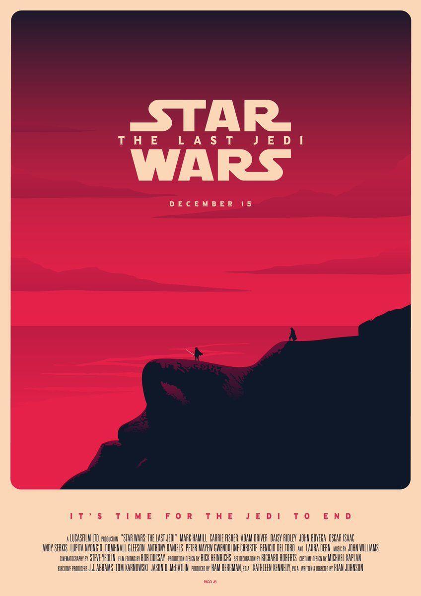 Star Wars The Last Jedi Poster Rico Jr Star Wars Puns Star Wars Poster Star Wars