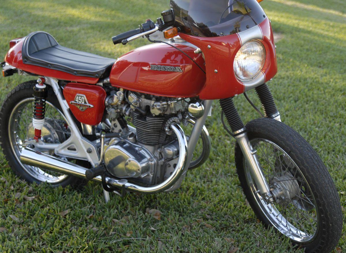 1974 Honda CB450 Vintage Cafe Racer