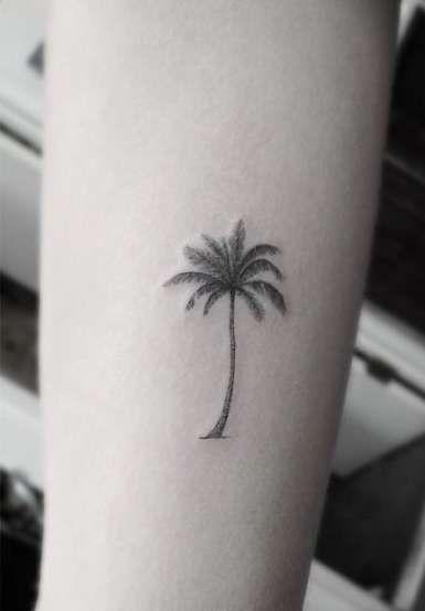 Photo of Trendy California Palm Tree Tattoo Ideas