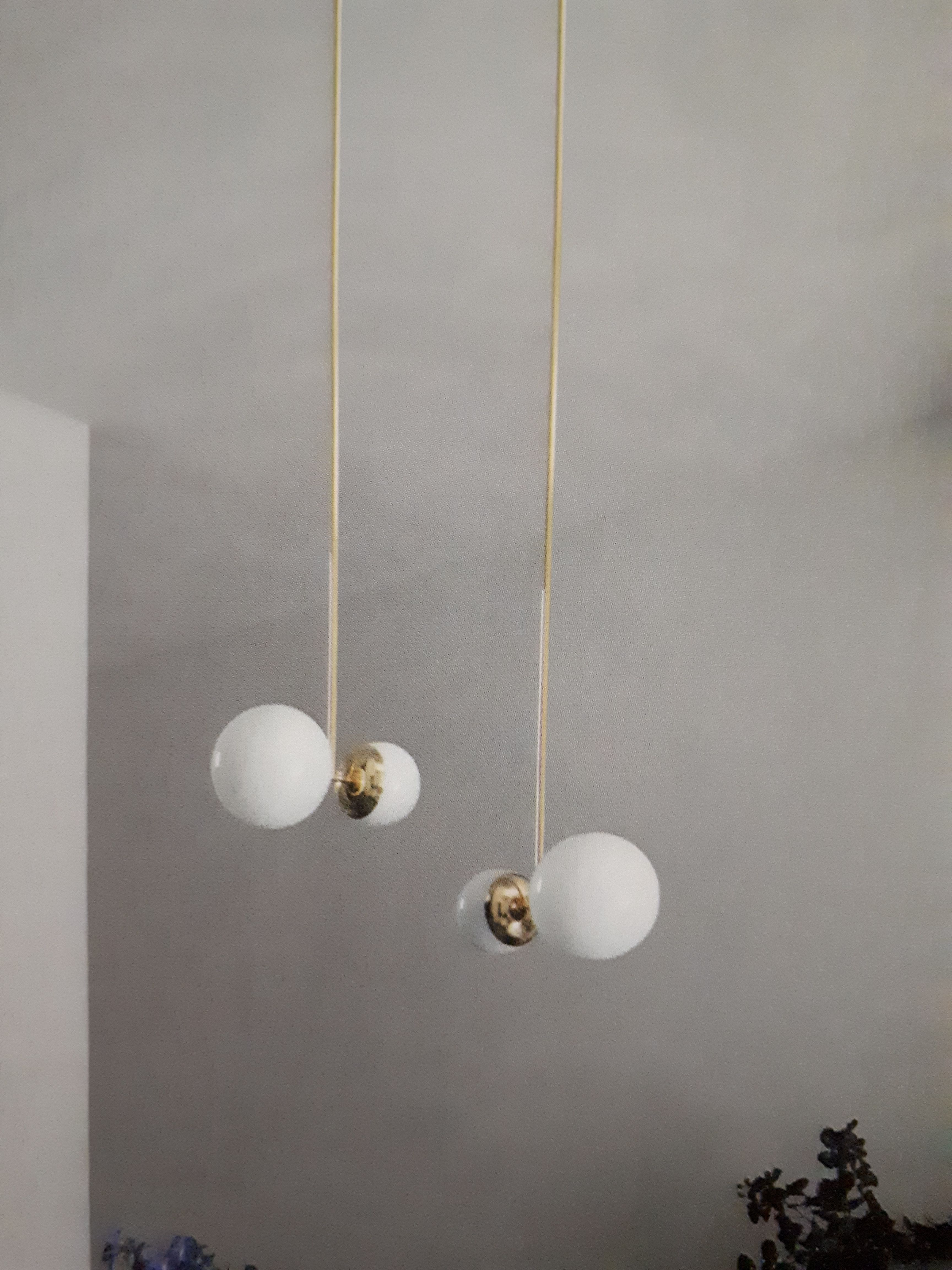 De Lampe BoboisLuminaires Suspension Biba Roche Lumière Nwm8n0
