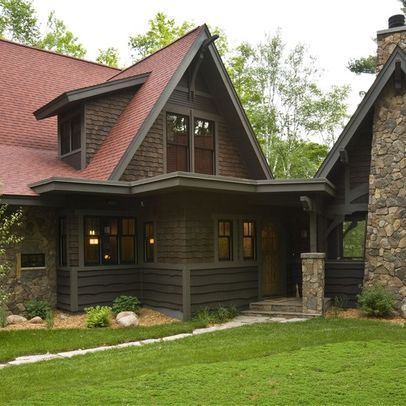 Spanish Moss Design Ideas Pictures Remodel And Decor Cabin Exterior Colors Rustic Houses Exterior Rustic Exterior