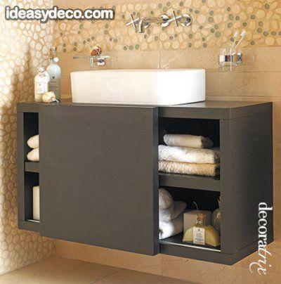 Muebles para ba os fotos de decoraci n ba os modernos for Muebles bano pequenos diseno