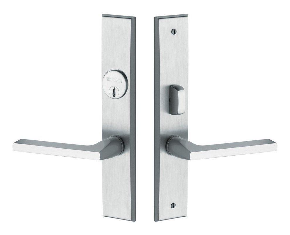 Baldwin 6974 Entr Front Door Hardware Hollow Metal Doors Door Handle Sets