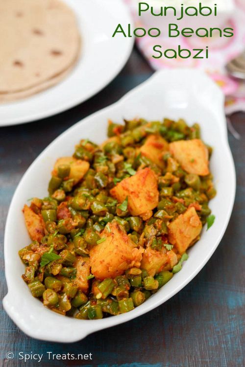 Potatoes and green beans punjabi aloo beans sabzi indian cuisine potatoes and green beans punjabi aloo beans sabzi indian cuisine forumfinder Choice Image