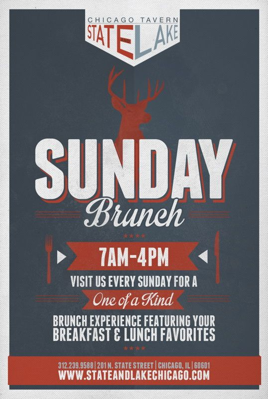 brunch flyers - Google Search | Event Poster Design ...