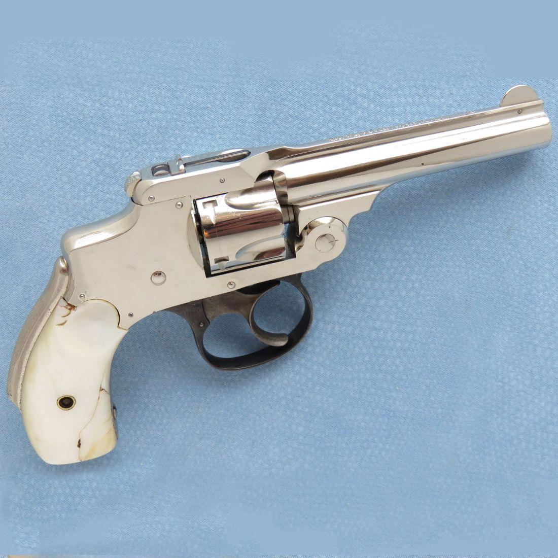 Smith Wesson Centennial Cal 32 Niquelado Cachas De Nacar