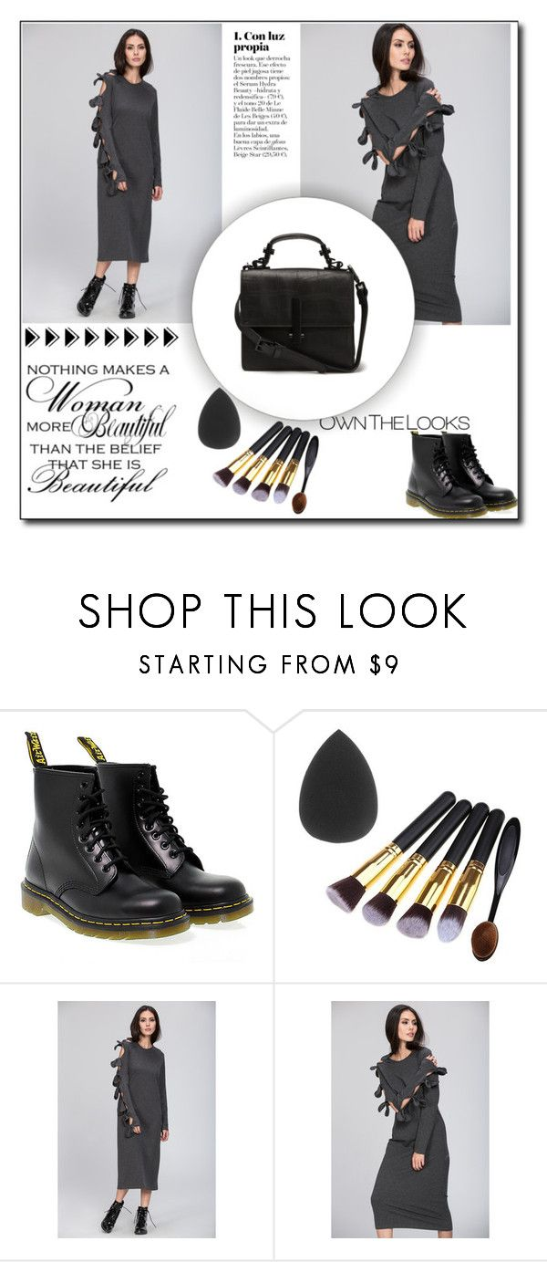 """""""OwnTheLooks"""" by dzenyy ❤ liked on Polyvore featuring Dr. Martens and ownthelooks"""