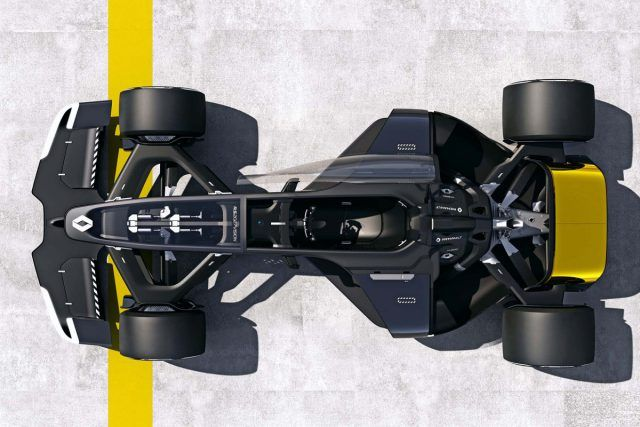 R.S.2027 Vision Concept, le futur de la F1 selon Renault