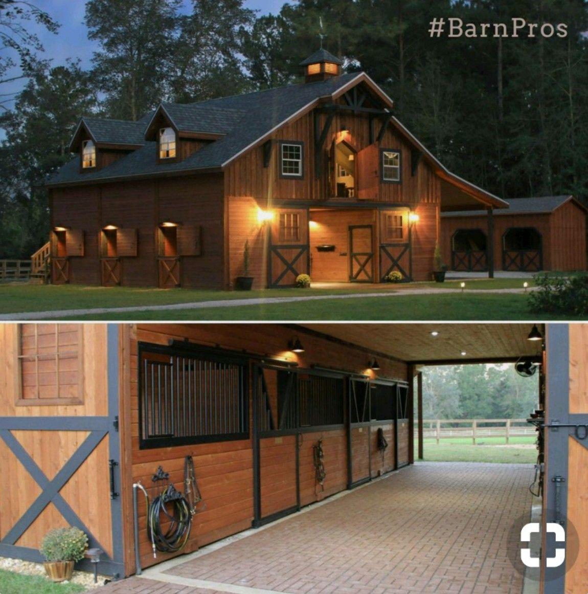 Rancho Horse Farm Layout Barn Designs Riding Les