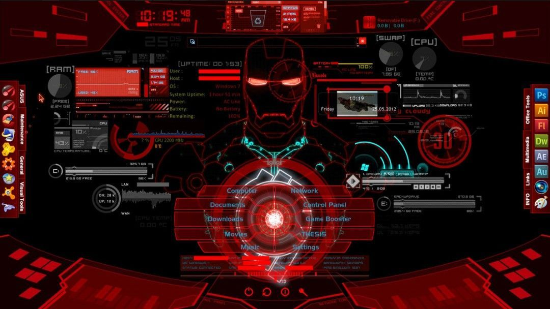 Marvel Iron Man Wallpapers Jarvis Wallpaper In 2020 Iron Man Wallpaper Man Wallpaper Iron Man Hd Wallpaper