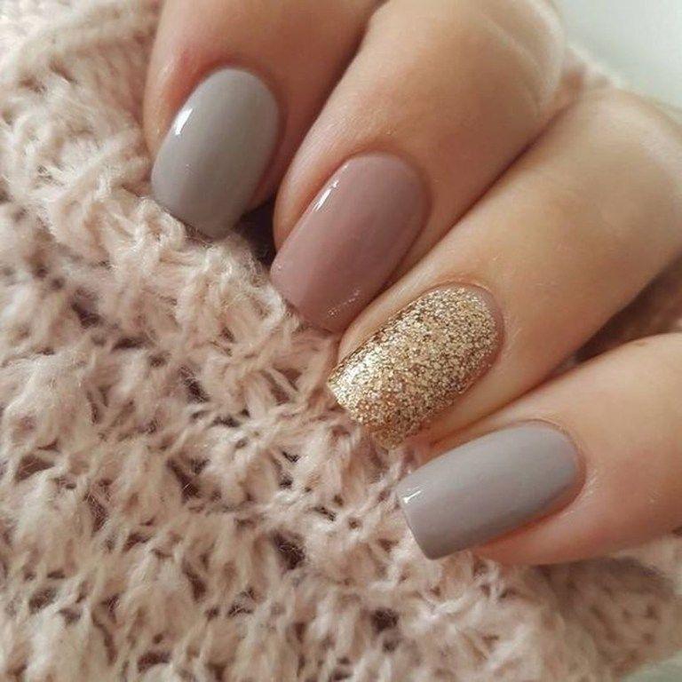 31 Amazing Short Nail Design For Fall Square Nail Designs Gold Nail Art Bride Nails