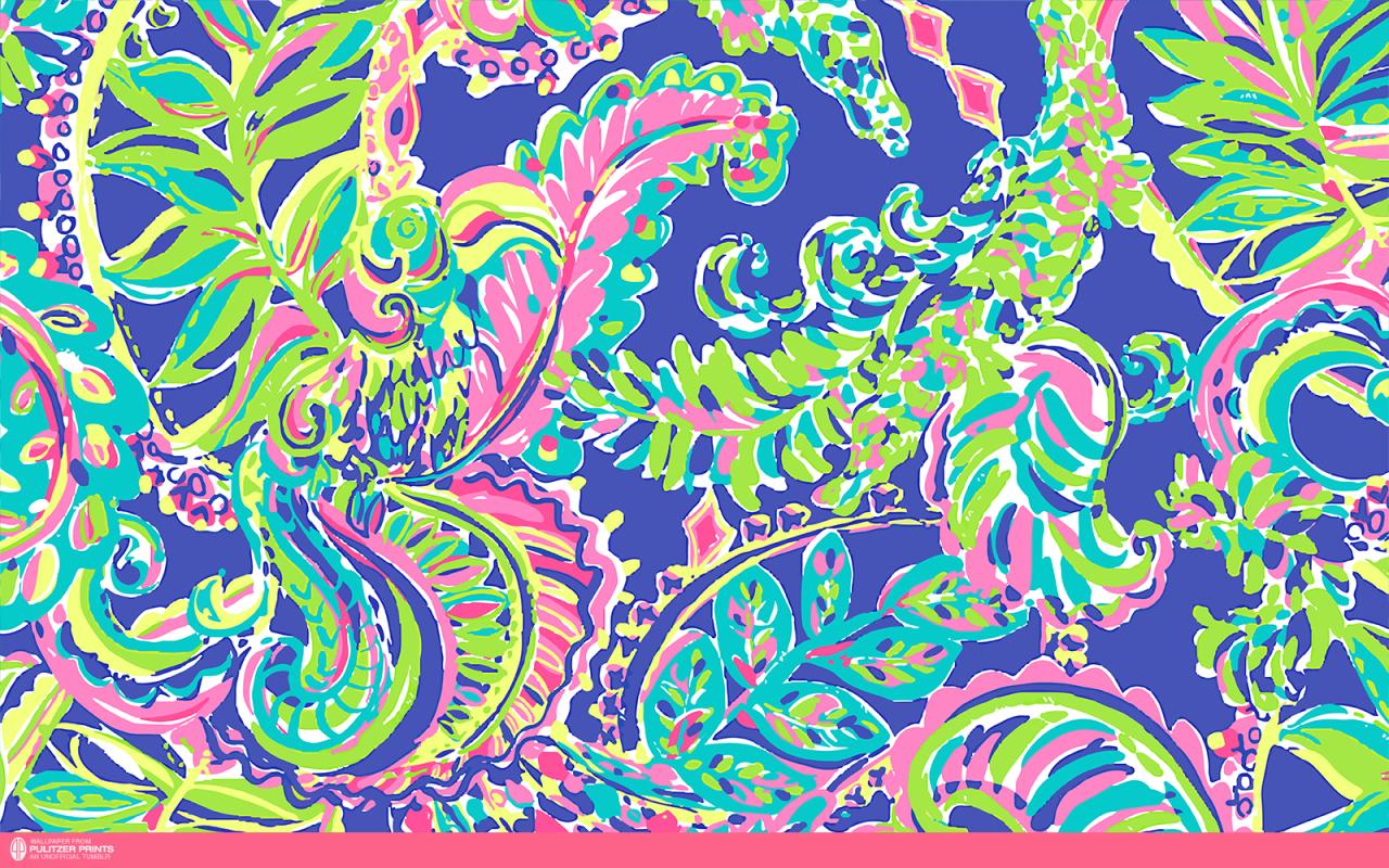 lilly pulitzer desktop wallpaper