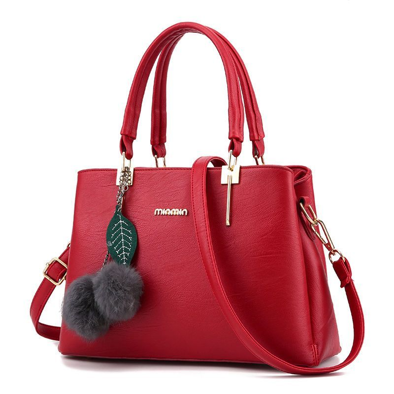Lady Handbag Fashion Women Shoulder Tote Bag Purse Pu Messenger ...