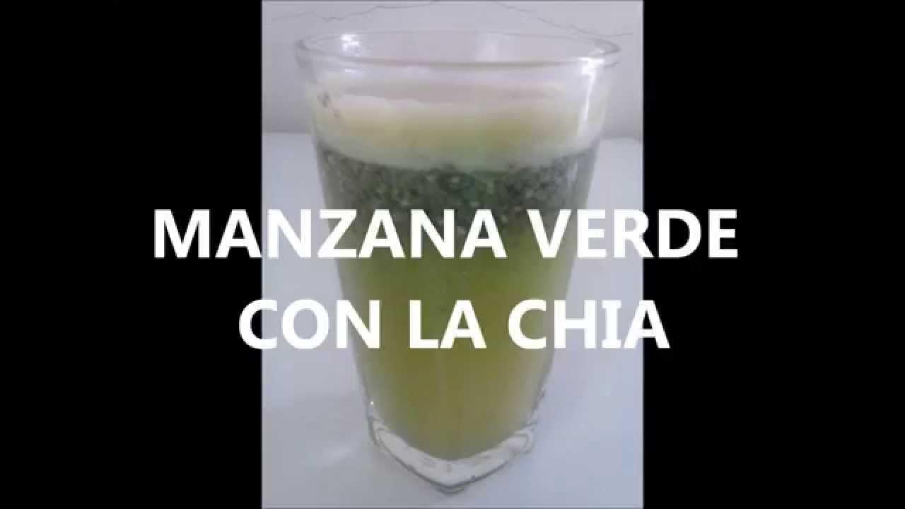 Para Que Sirve La Chia Y Manzana Verde Ayuda Para Perder Peso Bajar De Linaza Para Adelgazar Batidos De Manzana Linaza Y Chia