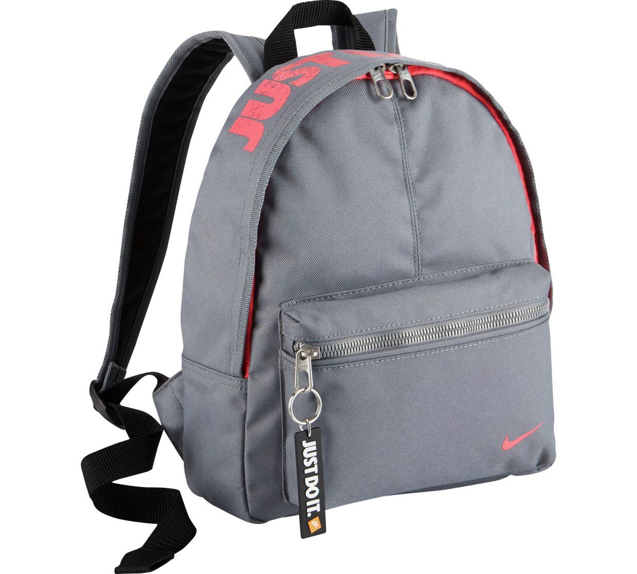 a466a8dbb2 Buy Nike Mini Black Backpack - Pink and Grey at Argos.co.uk - Your ...