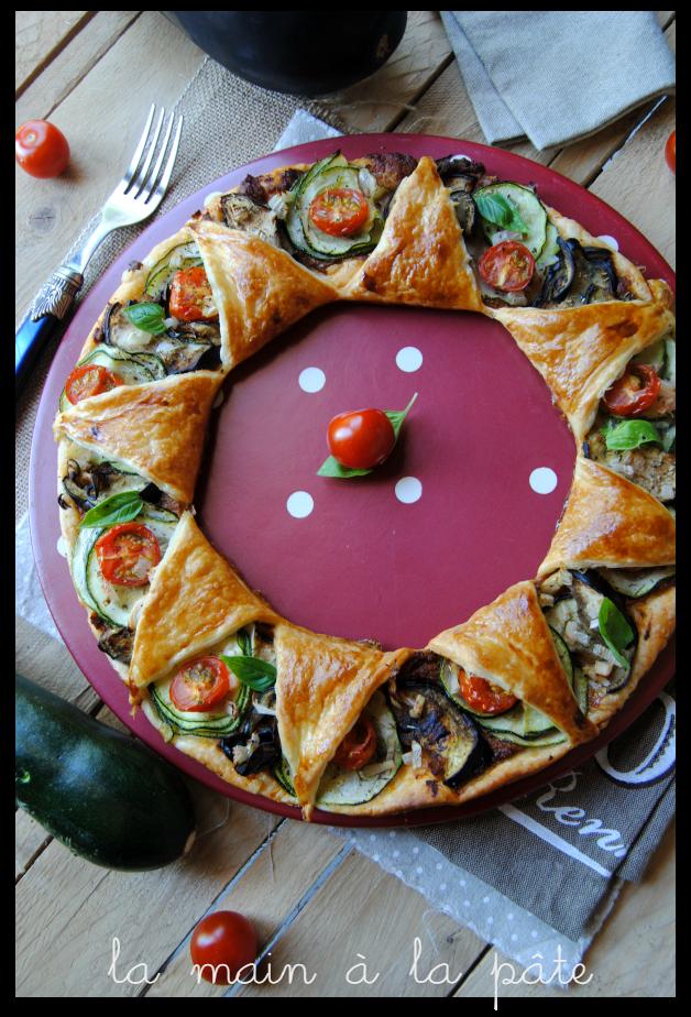 Tarte Etoile Aux Legumes D Ete Recette Tartes Salees Quiches