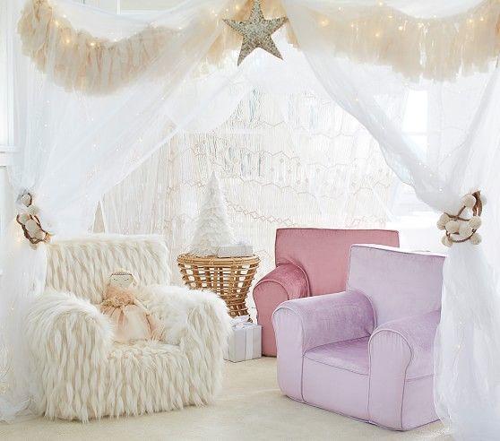 Shimmer Velvet Lavender Anywhere Chair 174 Bed Gifts Baby