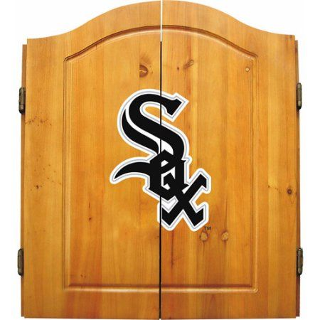 Imperial International MLB Dart Cabinet, Chicago White Sox, Multicolor