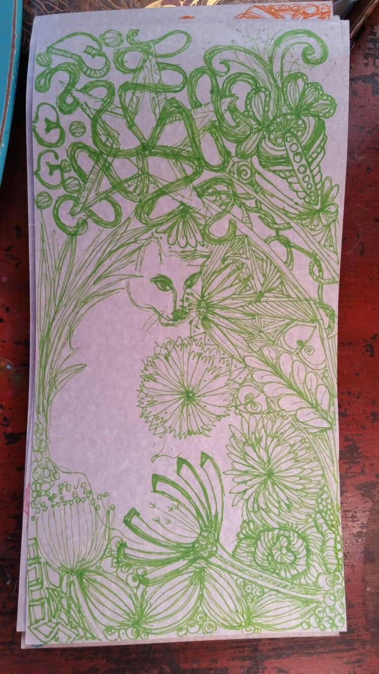 Inky for Sophia Ward