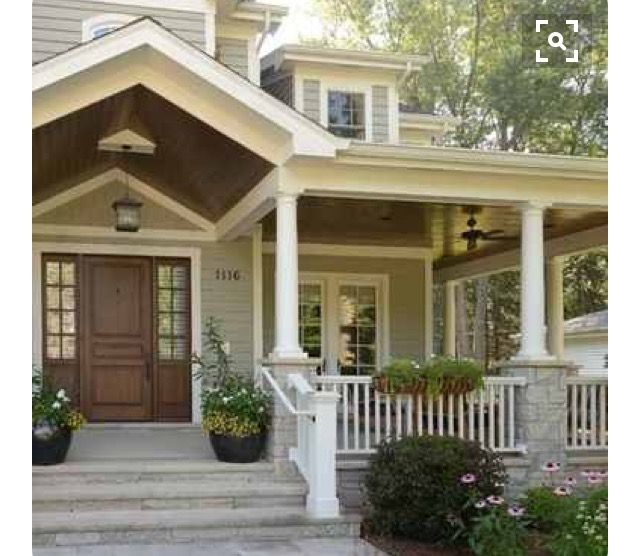 Pin By Ashley Renee On Favorite Spaces House Exterior Craftsman Style Homes Exterior House Colors